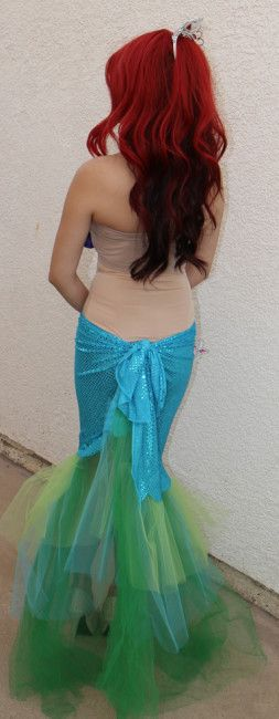 75 best the little mermaid costumes images on pinterest the little diy mermaid costume diy ariel little mermaid costume 1 lol katies telling me somethin solutioingenieria Choice Image