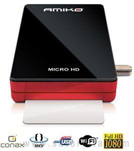 Обзор спутникового ресивера Amiko Micro HD