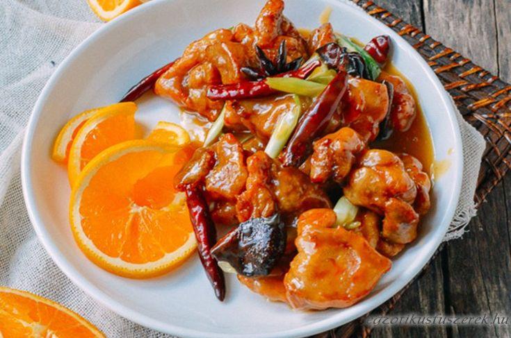 Narancsos Csirke No. 3. - Éttermi változat