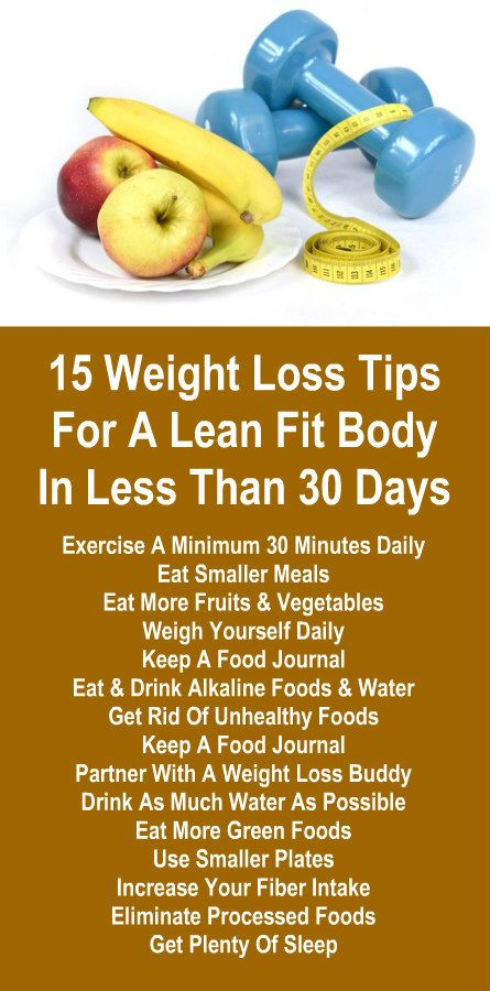free super fast weight loss tips