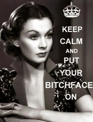 Sometimes the bitchface is necessary. #empowered
