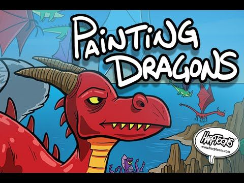 Painting A Dragon -Harptoons