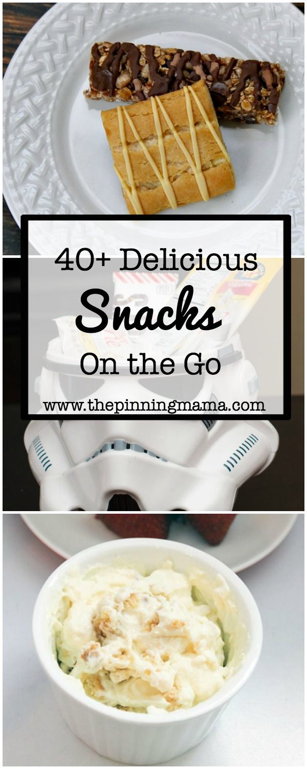 40 Thoughts from popular bloggers on Snacks on the Go AD