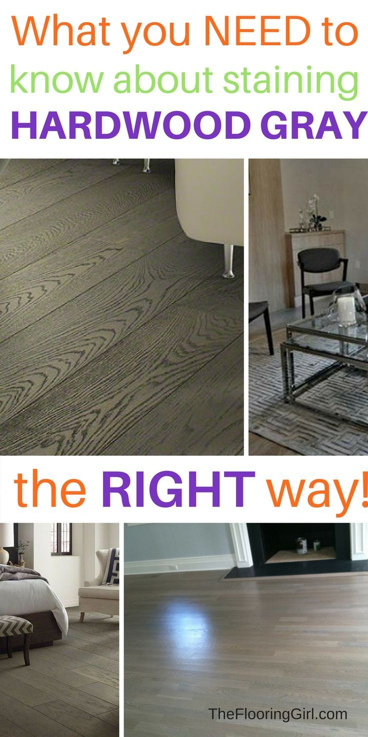 How to stain hardwood floors gray...the RIGHT way. Tips and advice - 343 Best Images About For The Floor: Rugs And More! On Pinterest