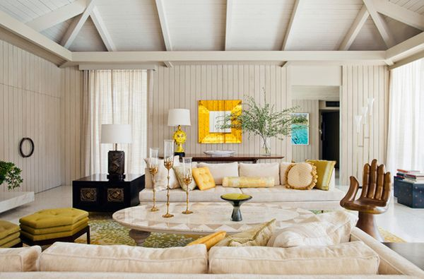1000 images about living rooms on pinterest sputnik for Plush pad palm springs