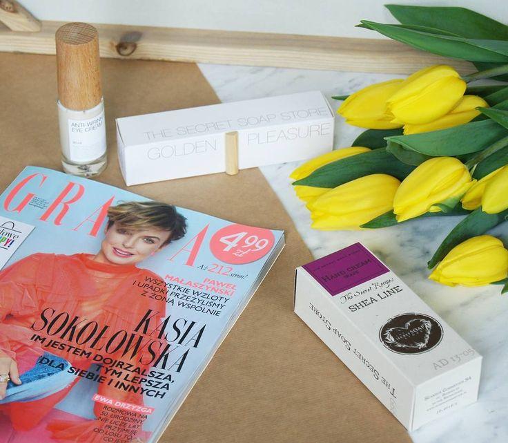 Wiecie, że już w ten weekend z gazetą Grazia i Twój Styl zrobicie zakupy w naszych sklepach że zniżką -20%?😊 Akcja rusza 31 marca i obowiązuje na cały asortyment. secret-soap.com #thesecretsoapstore #natural #cosmetics #handcream #naturalne #kosmetyki #polishbrand #grazia #shopping #flowers #spring #goldenpleasure
