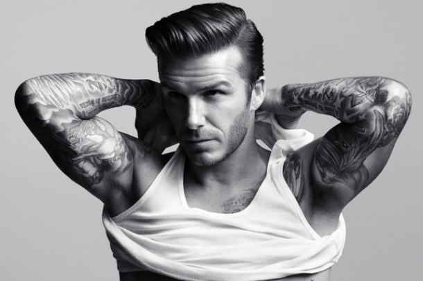Beckham. actually a borderline-genius soccer player if you can look past how ridiculously handsome he is.