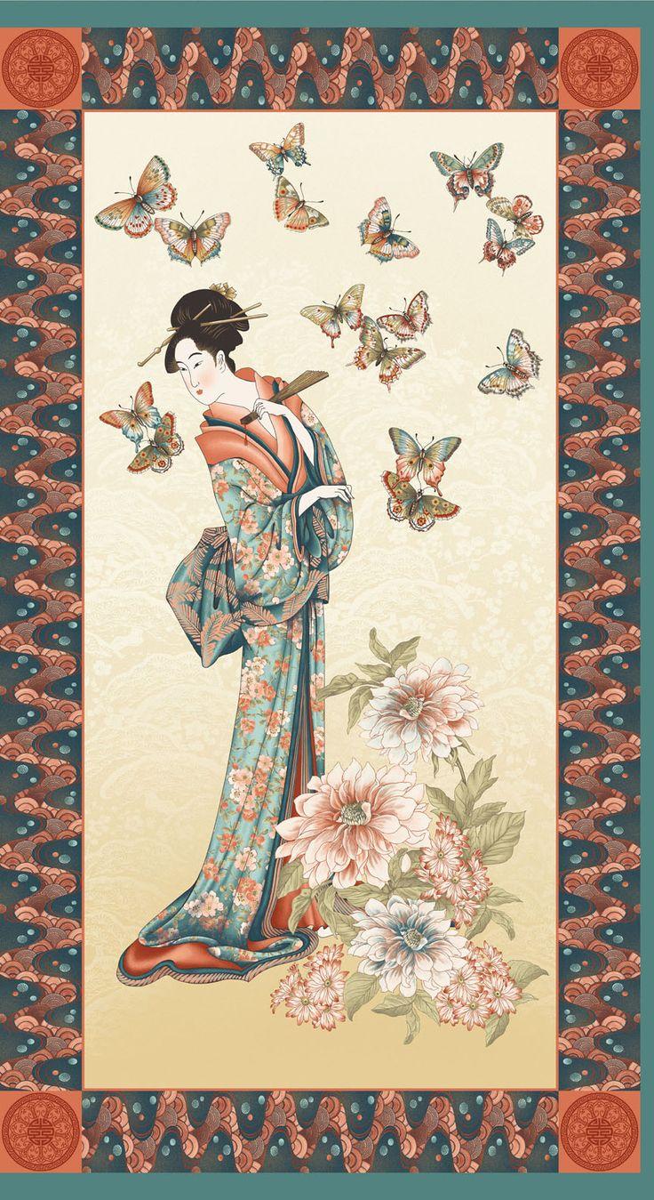 Refined Calming Classic Quot Tea House Geisha Garden
