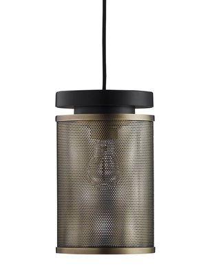 Pendelleuchte Casper / Lochblech, Messing, antik von Frandsen finden Sie bei Made In Design, Ihrem Online Shop für Designermöbel, Leuchten und Dekoration.