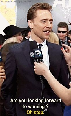 (GIF) I love this man's face... and voice... and everything... I just love this man. <--- dont we all?