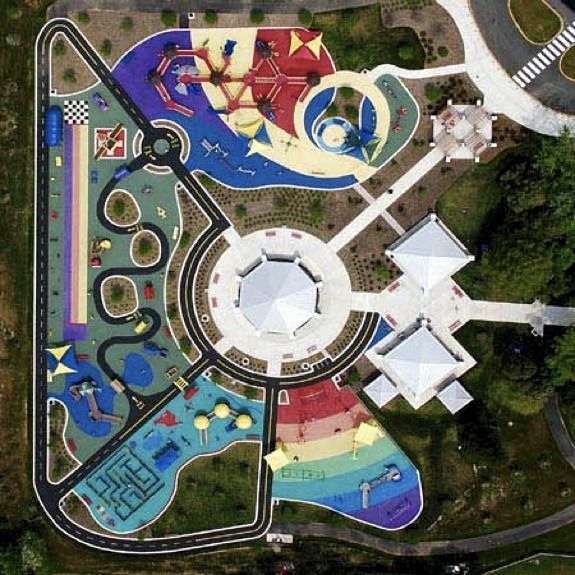 Cool Playgrounds: Clemyjontri Park