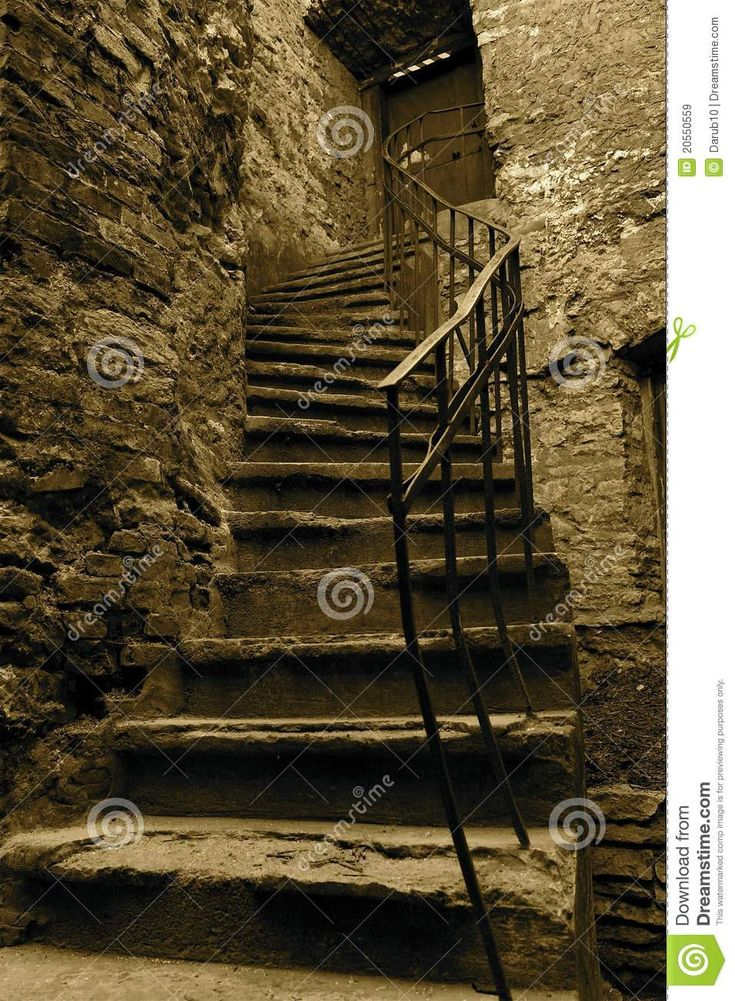 Old Stairs Royalty Free Stock Images - Image: 20550559