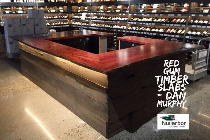 One Piece River Red Gum timber Benchtops. Ph. 0414568537
