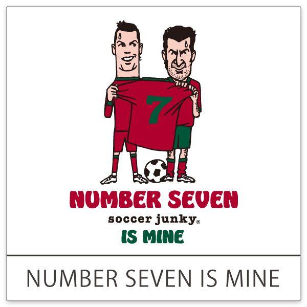 <NUMBER SEVEN IS MINE> 先輩から後輩へ快く7番を譲るはずが・・ どうやら本心は譲りたくないようです。