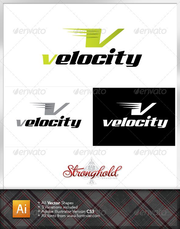 Velocity Logo Template - Letters Logo Templates