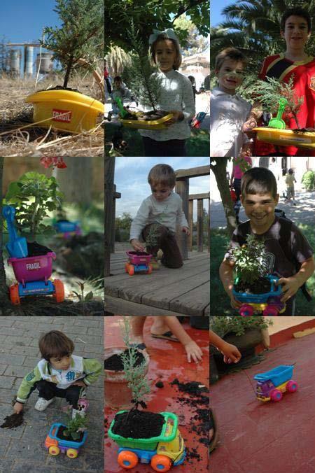 """""""Mercancia delicada"""". 2010. Carolina Sanfer. Intervención+Serie de fotografías+Vídeo. Parte del Proyecto """"Re-Acción Natura"""".  Más info: http://carolinasanfer.blogspot.com.es/2010/11/mercancia-delicada-2010.html"""