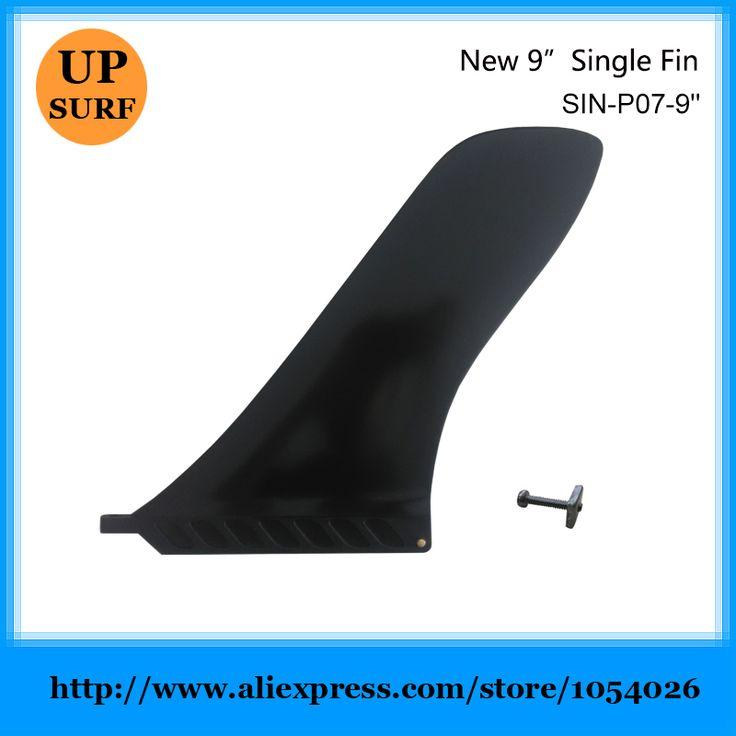 "Long Board Fin  Plastic Single Fins Surfboard Center Fins 9"" Length Fin #Affiliate"