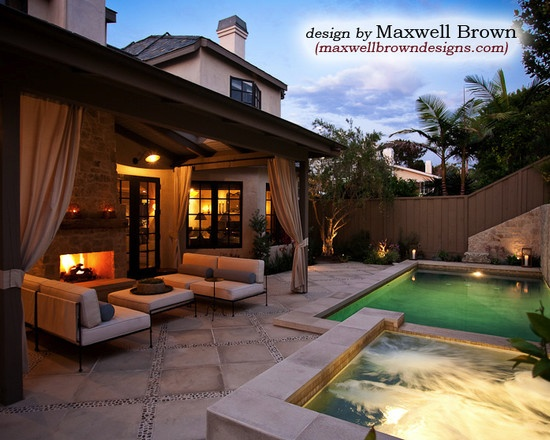 Small pools design pictures remodel decor and ideas page 9 decks pinterest - Pool designs for small spaces ...