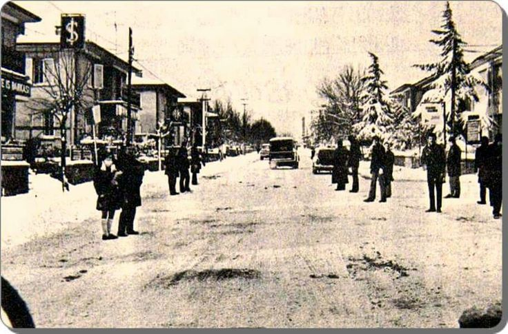 Etiler Nispetiye caddesi 1970