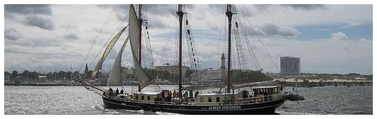 Warnemuende, Baltic Sea- Hanse Sail