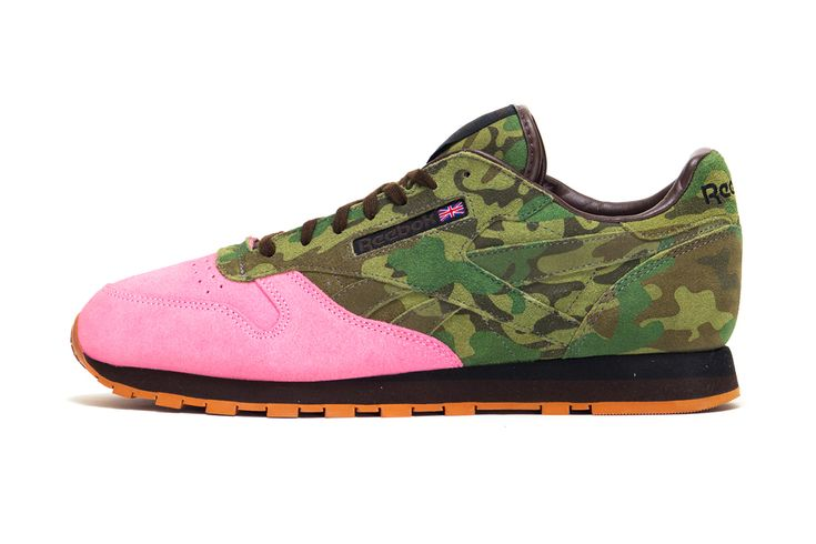 "Shoe Gallery x Reebok Classic Leather 30th Anniversary ""Flamingoes at War"""