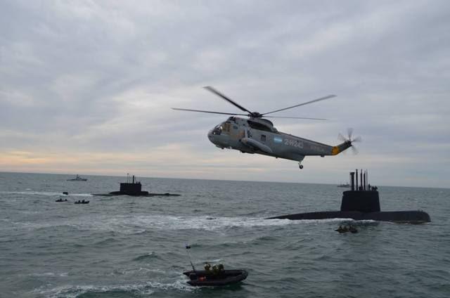El Ministro de Defensa argentino en la Base Naval de Puerto Belgrano-noticia defensa.com