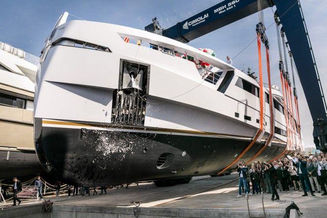 Rossinavi launch 49m superyacht Aurora