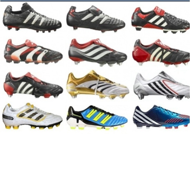 Adidas predator history - White and Gold were magical