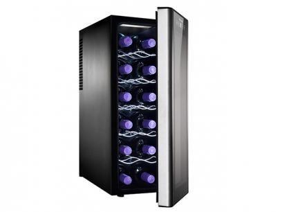 Adega Climatizada Electrolux 12 Garrafas ACS12 - c/ Display Touch Control e Iluminação LED com as melhores condições você encontra no Magazine Offmix. Confira!