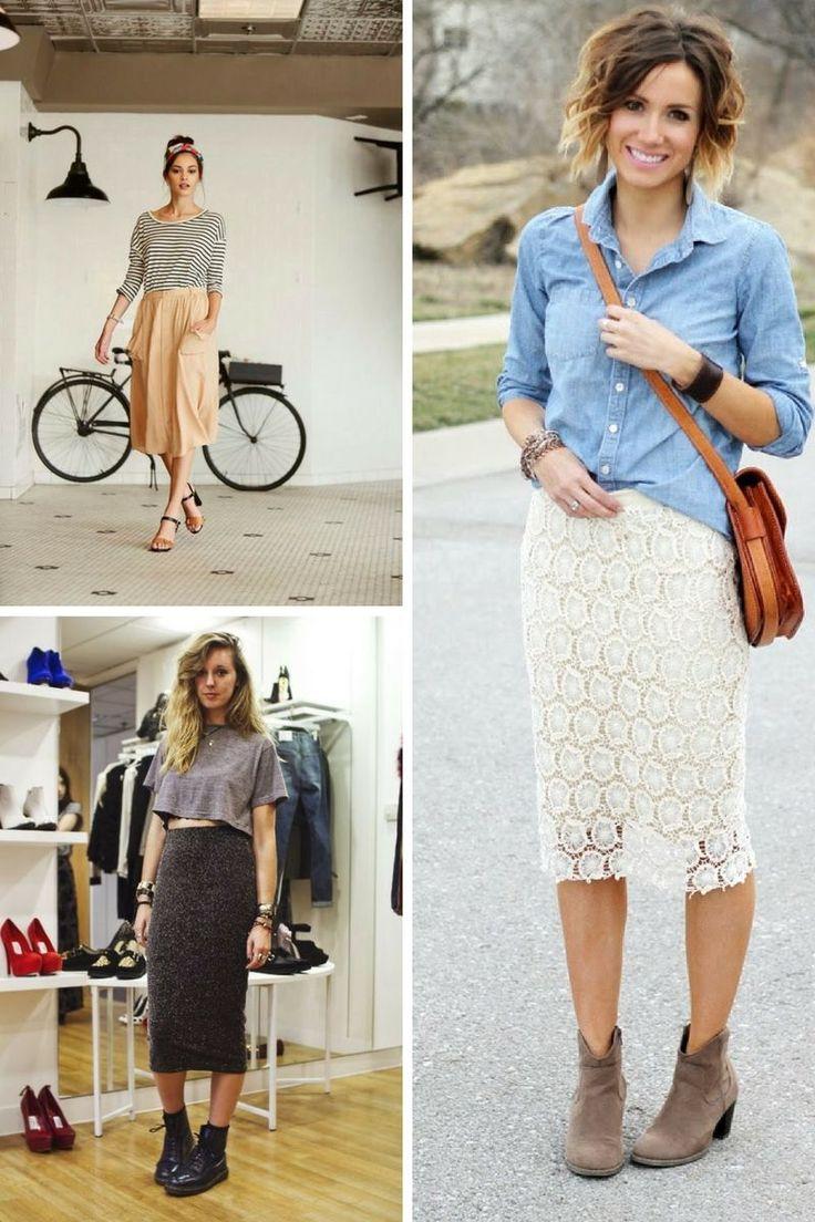 Midi Skirts For Fall (6)
