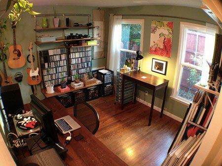Workspace Of The Week All In One Home Office Music