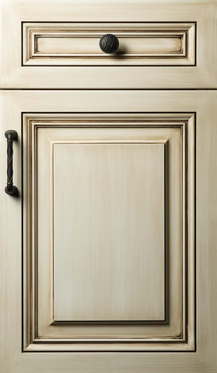 Presidential Door Style Done In Maple With Whitewash Finish @Ruth Stark.  Whitewash Kitchen CabinetsCustom ...