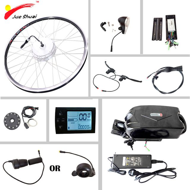 Electric Bike Conversion Kit With Battery 36v10ah Electric Bicycle