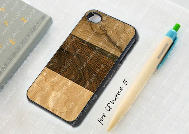wood layer - design case for iPhone 5