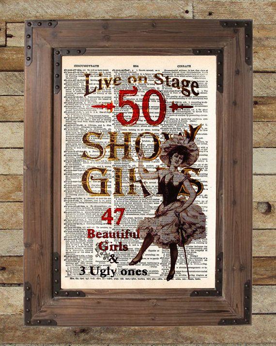 Segno del salone d'epoca showgirls selvaggio west di Loft817