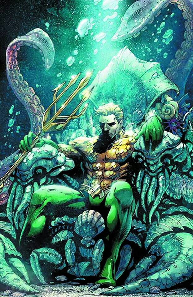 Aquaman | www.comic-manga.net - Visit to grab an amazing super hero shirt now on sale!