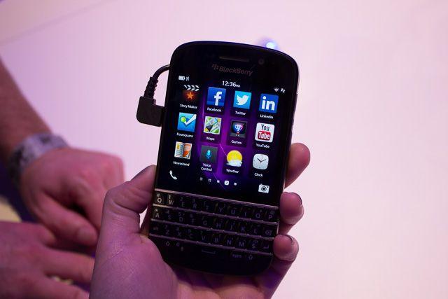 #BlackBerry Q10