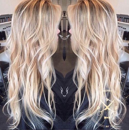 Love The Waves!!! Shaggy razor-cut layers provide texture without harsh & heavy lines to weigh hair down. Natural beach waves offer the perfect amount of volume for a casual sexy style!