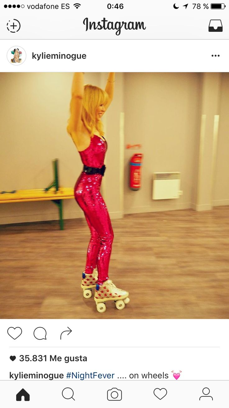 Roller skates for hire sydney - Kylie Minogue Just Posted This Pic Of Herself Skating In A Sequins Rollerdisco