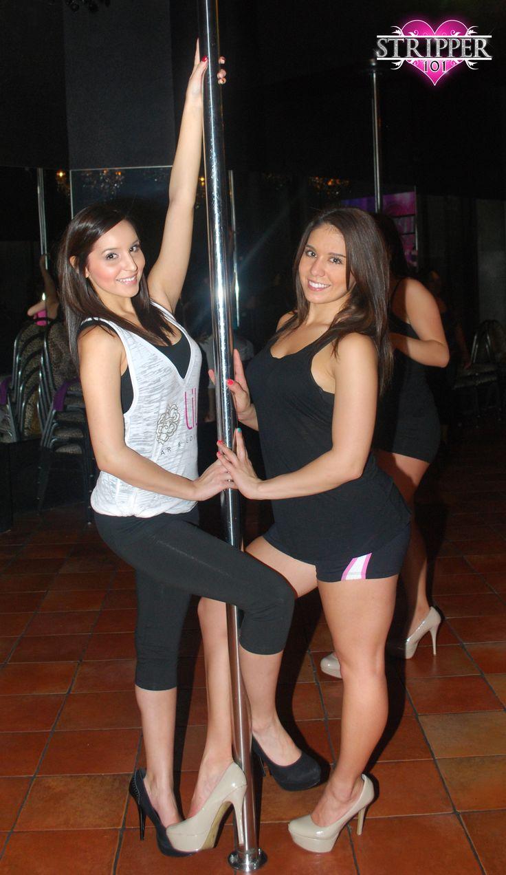 Girls take advantage of stripper
