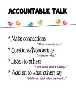 I plan to create a mini-lesson for interactive read aloud time about turn and talk time with these stems.