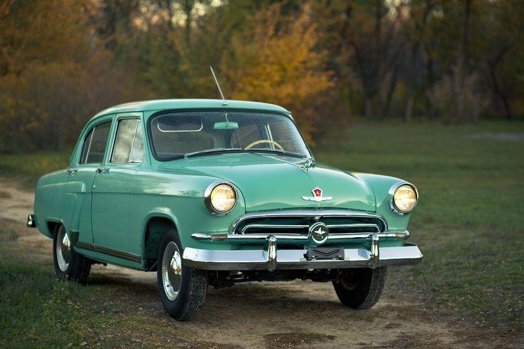 GAZ-21 Volga (1958).