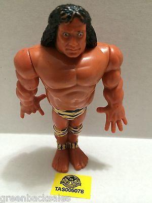 (TAS005078) - WWE WWF WCW nWo Wrestling Hasbro Action Figure - Jimmy Snuka