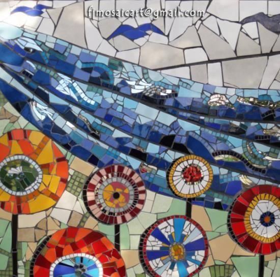 muralismo en mosaico contemporáneo  mosaico  azulejos,cerámicos  venecitas,vidrio  piedra mosaico contemporáneo,veneciano y trencadis