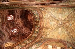 See the Basilica of San Vitale in Ravenna for the largest and best-preserved Byzantine mosaics outside Istanbul and the only church that has survived mostly unaltered in the Justinian style.