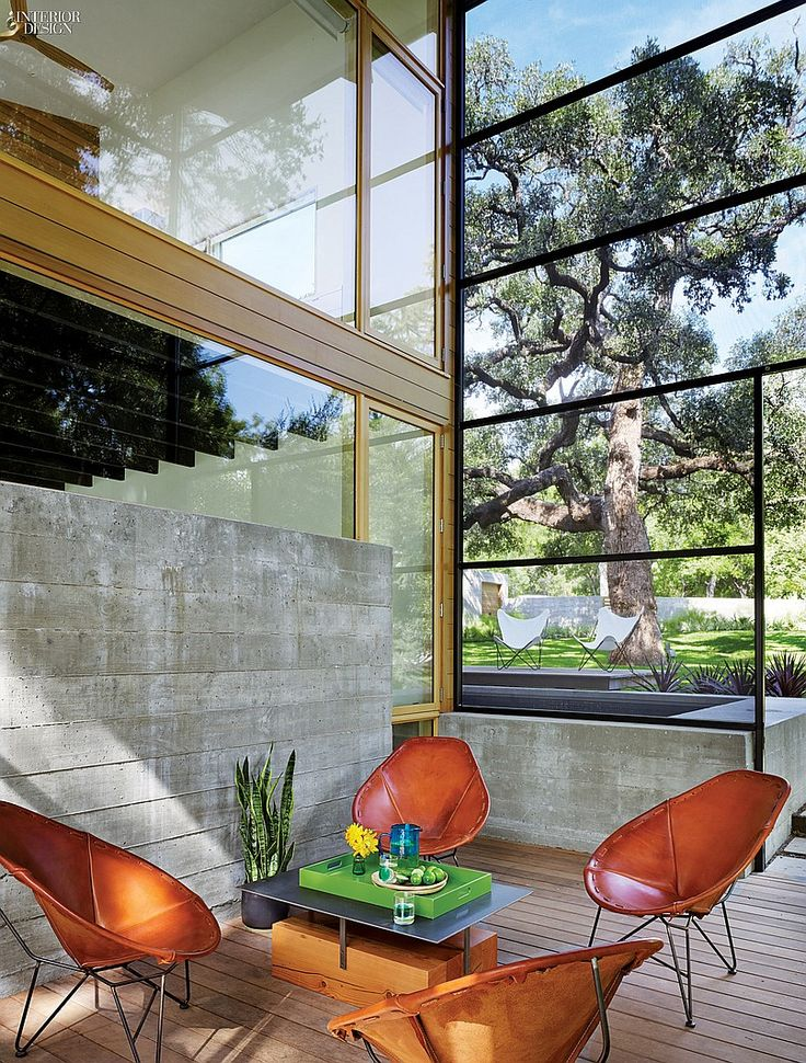 Austin City Limits: Lake Flato and Abode Transform Texas Lake House | Projects | Interior Design