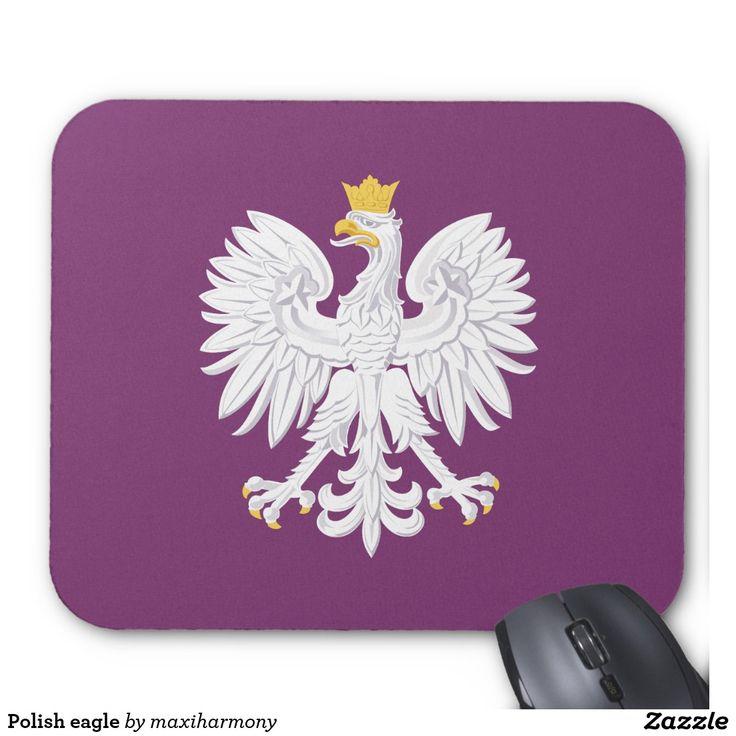 Polish eagle mouse pad