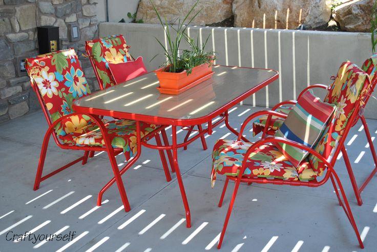 Refurbished patio set