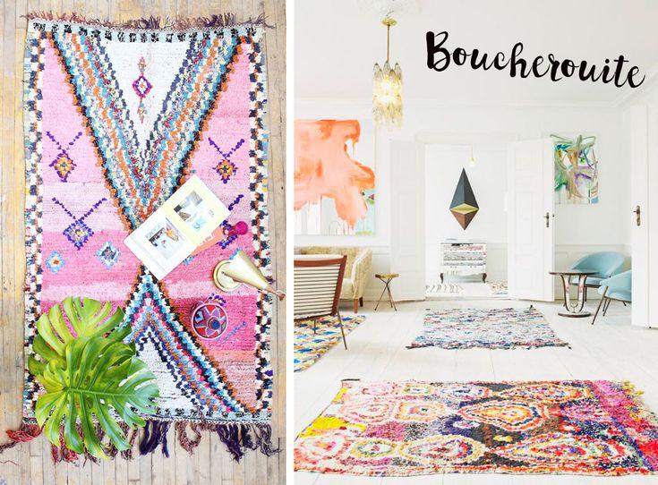 Teppiche haben 2015 ohne Frage ihr großes Comeback gefeiert. Ganz oben auf der Interior-Hitlist: der Beni Ourain. Doch nicht nur die schwarz-weißen Teppiche hat Marokko für Einrichtungsliebhaber zu...