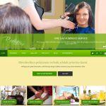 desain web untuk salon kecantikan estetika dan spa / skin care